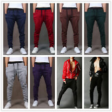 New Cool Models Men's Casual Korean Harem Pants Motion Long Pants Loose Trousers
