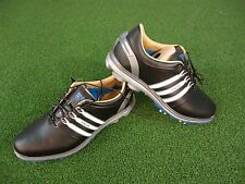 NEW ADIDAS PURE 360 GOLF SHOES (BLACK-WHITE-BLUE) ADIDAS PURE 360 SHOES NEW