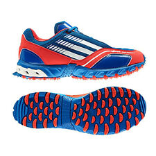 NEW ADIDAS HOCKEY ATTACK II UNISEX BLUE BEAUTY WHITE RED HOCKEY TRAINERS SHOES