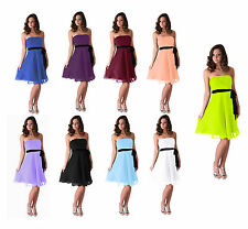 Bridesmaid Wedding Party Prom Ball Formal Dress 0 2 4 6 8 10 12 14 16 18