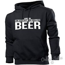 And On The 8th Day God Created Beer Hoodie Men Women Drinking Alcohol Drinker