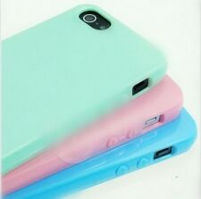 NEW Silicone Case Cute Candy Rubber Gel Tpu Cover For iphone6 6 plus 4S 5 5S 5C