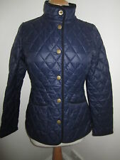 JOULES Oakwood Navy Quilted Jacket Sz 6 RRP£89.95 Free UK P&P