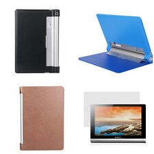 "2014 New PU leather stand Case+Screen Film For Lenovo 10.1"" Tablet Yoga 10 B8000"