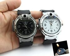 Cool Unique Men's Watch Butane Gas Cigarette/Cigar Refillable Wrist Watch