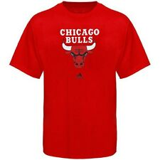 Chicago Bulls ADIDAS Primary Logo (Red) Men's Graphic T Shirt (L-XL)
