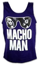 Macho Man Randy Savage Purple Sunglasses Mens Tank Top Shirt