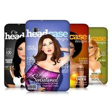 HEAD CASE MAGAZINE COVERS SNAP-ON BACK COVER SAMSUNG GALAXY TAB 7.0 PLUS P6200