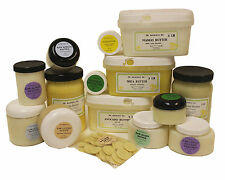 Organic Butters 100% Pure RAW Fresh Natural 2oz 4 oz  up to 12 Lb Free Shipping!