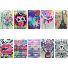 New Hot Luxury Painted Pattern Leather Case Stand Cover for Apple iPad Mini New