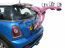 3 Bike Cycle Carrier Rear Door Boot Mounted Rack Fits BMW Mini -All Years