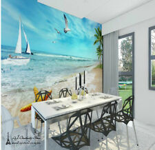 Large Seagull Sailing Wall Paper Wall Print Decal Wall Deco wall Mural Home Kids