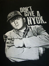 THE THREE STOOGES CURLY DON'T GIVE A NYUK T-SHIRT NEW !