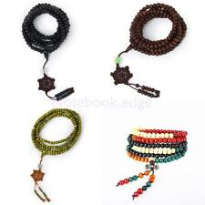 6mm 216pcs Bead Tibetan Buddhist Prayer Beads Mala Sandalwood Bracelet Necklace