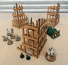 City Fast Building Kits 28mm Wargames, Bolt Action Scenery Terrain
