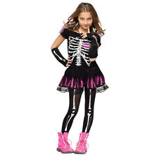 Sally Skelly Child Skeleton Day of the Dead Costume | Fun World 112562