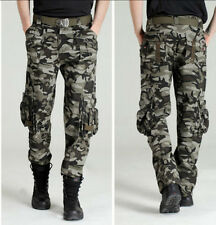 Women/Men's multi-pockets outdoor casual pants loose Climbing Pants army pants