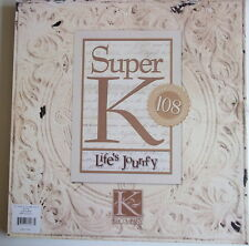 """K&CO 12x12"""" SCRAPBOOK PAPER - FROM THE LIFE'S JOURNEY PAD - choice of set"""