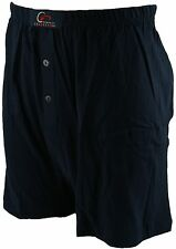 Perfect Collection 2 Pack  Jersey Boxer Shorts Navy