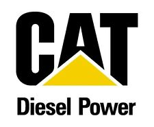 Caterpillar Diesel Power Vinyl Die-cut Decal / Sticker ** 4 Sizes **