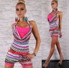 Sexy Women's Summer Jumpsuit Overall Retro Style Hot Pants Shorts Free Size