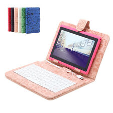 """iRulu 7"""" Android 4.2 Dual Core Cam Tablet PC 8GB A23 1.5GHz WIFI Pink w/Keyboard"""