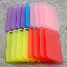 Wholesale Lot of 5 Clearance Transparent Plastic Case Cover For Apple Iphone 5