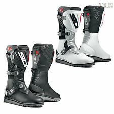 Sidi Trial Zero Leather Off Road Motorbike Motorcycle Boots