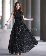 NEW Punk Women Bohemia Sundress Graduation Prom Formal Evening Party Ball Gown