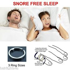 ANTI SNORE SNORING RING Stop Insomnia Sleep Aid Natural Acupressure Treatment