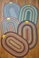Choice Capitol Earth Brand Multi-color Oval Braided Jute Rug Mat 20 x 30 ON SALE