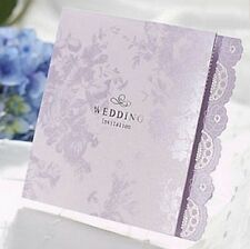 Wedding Invitation Cards Envelopes European Fold-type Creative Invitations New