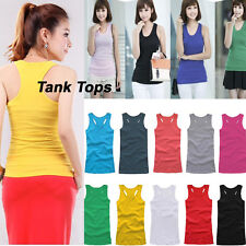 2014 Summer Fashion New Women Sexy Cotton Camisole T Shirt Tops Vest 10 Types