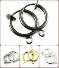 Pugster 316L Surgical Steel Clip On Fake Piercing For Fake Belly Button Rings