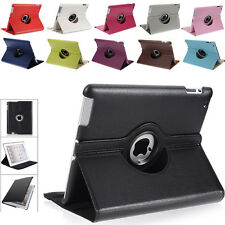 360 Rotating Leather Case Cover For iPad4 3 Samsung Galaxy Tab 2 10.1 7.0 Google