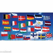 GIANT 5 x 3FT WORLD NATIONAL COUNTRY FANS SUPPORTER FLAG PREMIUM QUALITY EYELETS