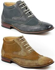 Ferro Aldo MFA-806007 Men's Lace up Dress Ankle Boots Shoes w/ Leather Lining