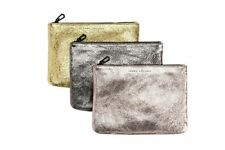 Marc Jacobs Neiman Marcus for Target Women's Metallic Zip Clutch Hand Bag Purse
