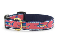 ANY SIZE - UP COUNTRY - MADE IN USA - DESIGN DOG COLLAR - SALTWATER FISH