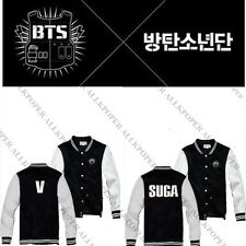 Bangtan Boys Jacket Kpop BTS unisex goods New Rap Monster Baseball Coat Jacket