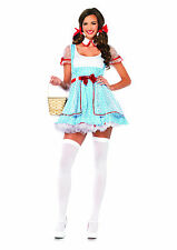 Women's Sexy Dorothy Wizard Of Oz Dress Outfit Adult Halloween Fancy Costume
