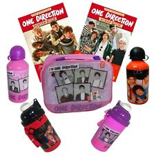 ONE DIRECTION LUNCH BOX SPORTS DRINK BOTTLE (METAL or PLASTIC) 1D ACTIVITY BOOKS