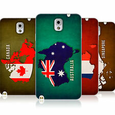 HEAD CASE COUNTRY FLAG MAPS TPU SKIN BACK CASE FOR SAMSUNG GALAXY NOTE 3 N9000