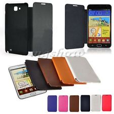 PU Leather Flip Back Battery Case Cover For Samsung Galaxy Note 1 N7000 i9220