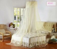Lace Princess Mosquito Net Canopy Bites Protect For Twin Queen King Size