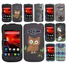 Rubberized Design Hard Case Snap On Phone Cover For ZTE Concord 2 II Z730