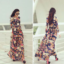 1PC Sexy Women Ladies Summer Boho Long Maxi Evening Party Chiffon Dress Perfect