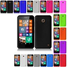 Color Soft Silicone Gel Rubber Skin Case Phone Cover For Nokia Lumia 630 / 635