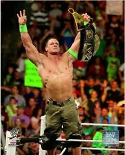 John Cena 2014 WWE Championship Belt Photo (Select Size)
