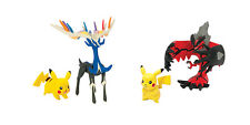 Tomy Pokemon X Y Pikachu Legendary Twin Figure Pack - Yveltal or Xerneas NEW